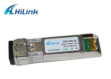 চীন 100% Compatible 10G SFP+ Transceiver Dual Fiber LC Connector 1310nm 20Km 10G-SFP-LR কারখানা